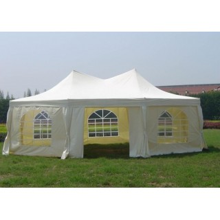 Садовый тент шатер Green Glade 1052 (8 граней)