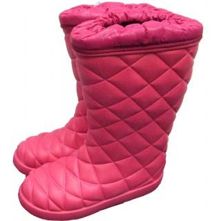 Сапоги зимние WOODLINE ЭВА -45, розовые (990-45)
