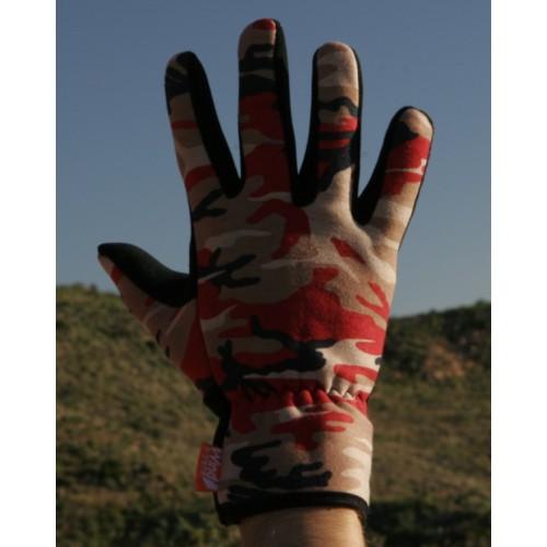 GLOVES перчатки из флиса