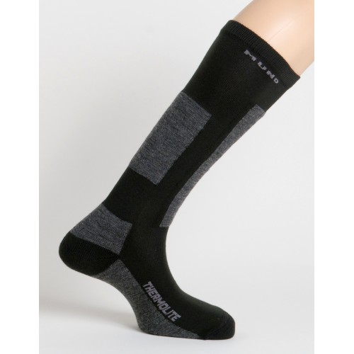 314 Skiing Antibac носки, 12- чёрный