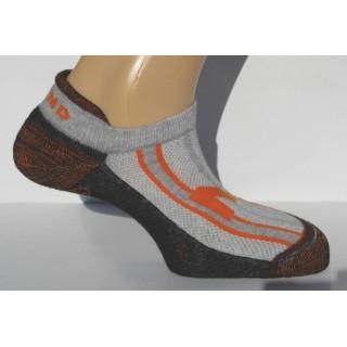 806 Invisible Rizo носки, 1- серый