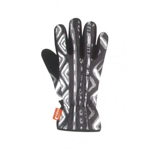 Gloves plain перчатки 024 marroc black