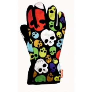 Gloves plain перчатки 231 happy skulls