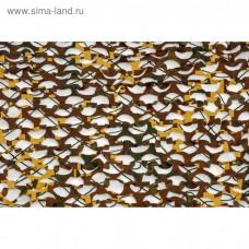 Пейзаж Утка 3D (зеленый, коричневый, желтый) (2,4*6 м) ПУ-6