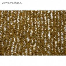 Папоротник (светло-бежевый) хвоя (2*3 м) (на сетевой основе) ПС3-3 / PS3-3