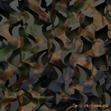 Пейзаж Лес 3D (зеленый, коричневый) (2,4*6 м) ПЛ-6