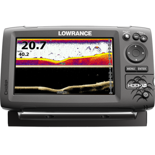 Lowrance HOOK-7x Mid/High/DownScan Эхолот