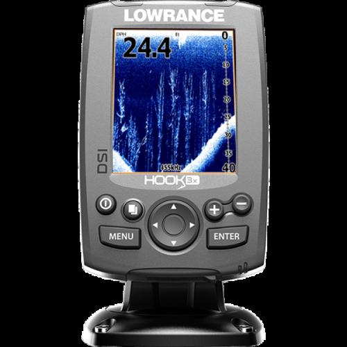 Эхолот Lowrance HOOK-3x DSI комплект