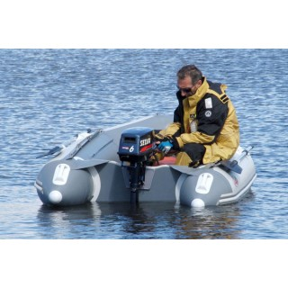 Транцевая лодка ПВХ Классик Лайн 270 PW