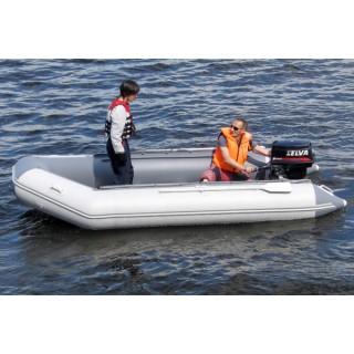 Транцевая лодка ПВХ Классик Лайн 420 PW