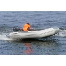 Транцевая лодка ПВХ Классик Лайн 370 PW
