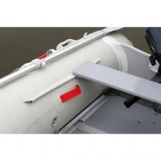 Сиденье для лодок 200-235 (длина 80 см), Grey