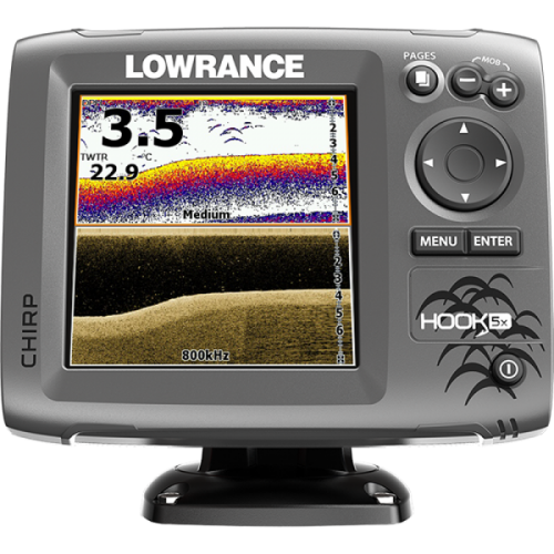 Lowrance HOOK-5x Mid/High/DownScan Эхолот