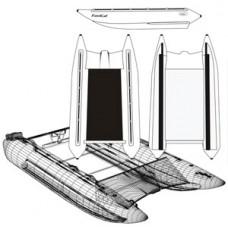 Надувной катамаран Badger FS 380 White