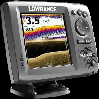 Эхолот Lowrance HOOK-5x комплект