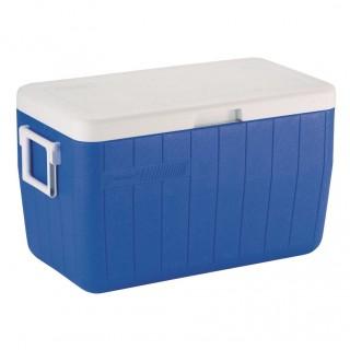 Изотермический контейнер Колеман 48 КВАРТ ПЕФОРМАНС (синий)
