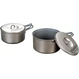 Набор титановой посуды Evernew ECA-412