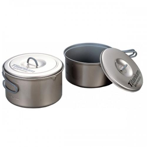 Набор титановой посуды Evernew ECA-413