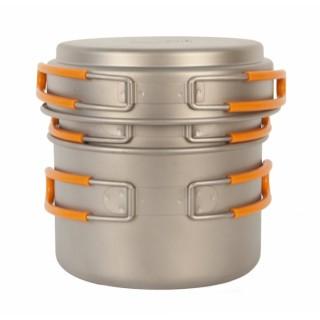 Набор титановой посуды NZ Titanium Pot Set