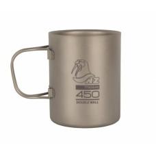 Титановая двухстенная кружка NZ 0,45 л