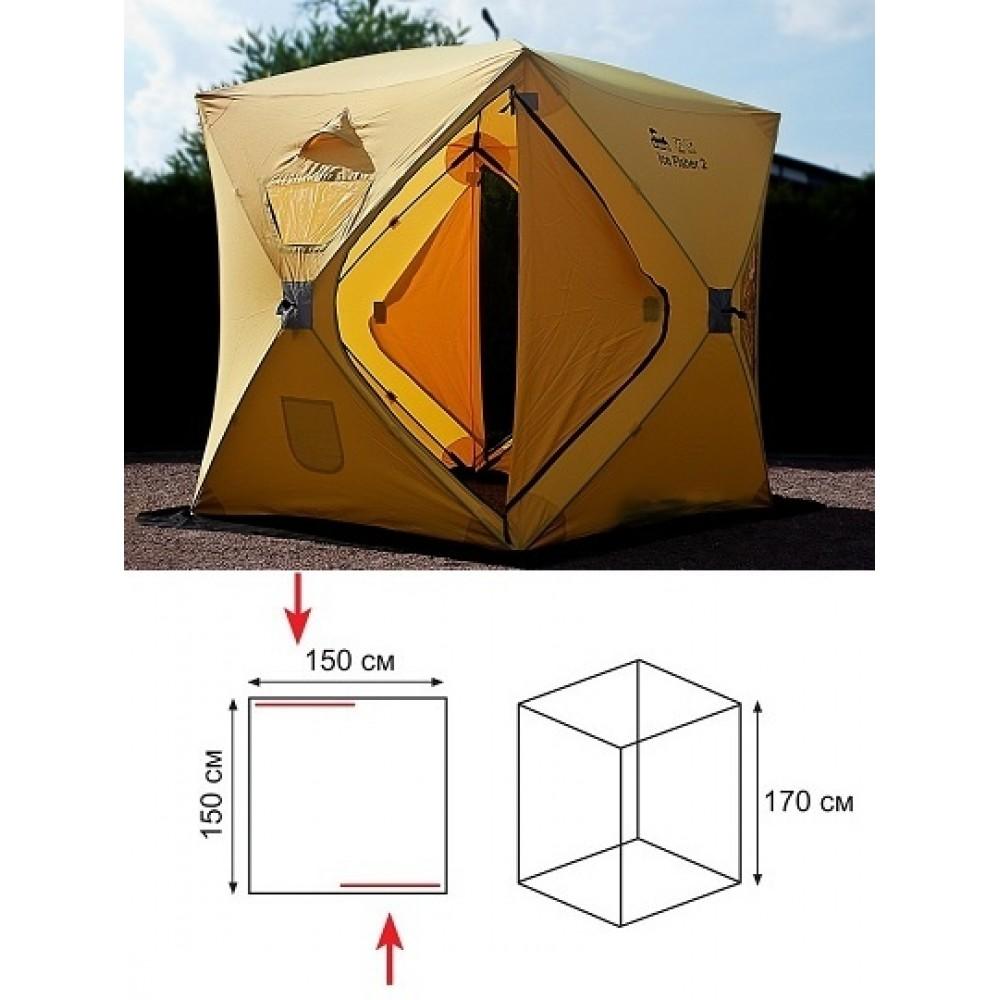палатка для рыбалки fisher